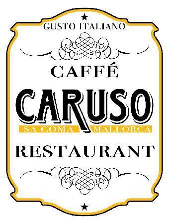 Caruso Restaurant Sa Coma : Logo