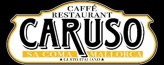 Caruso Restaurant Sa Coma : insegna