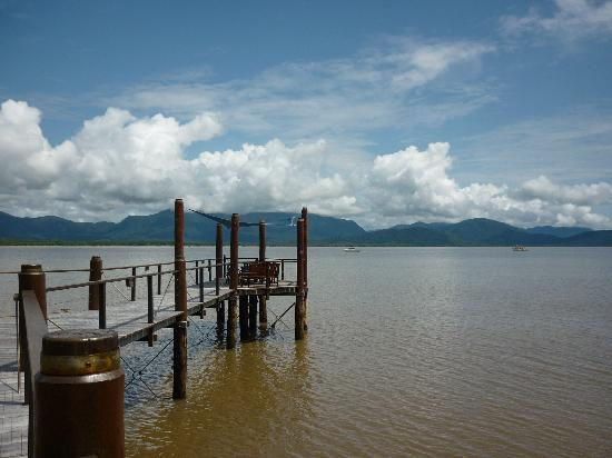 Bloomfield Lodge: View of jetty