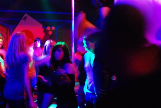 Kitsch Push Night Club: dancing in the dance hall