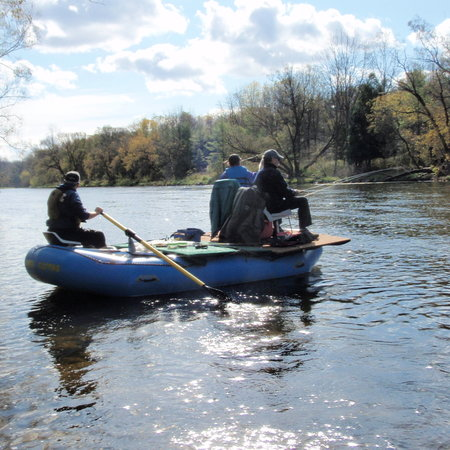 Grand River Rafting Company: Try a 5 Hour Guided Bass Fishing Float