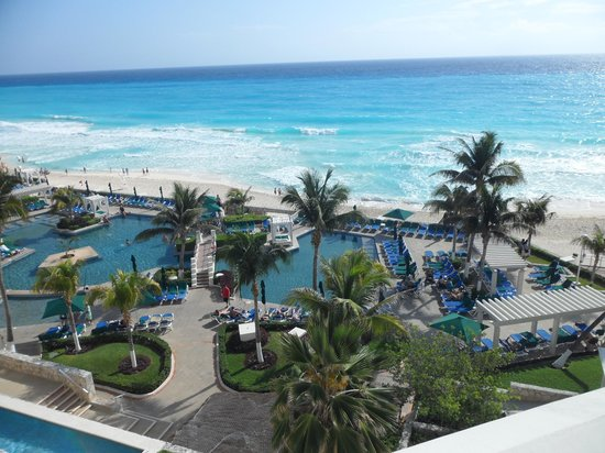 Royal Solaris Cancun: View from our room