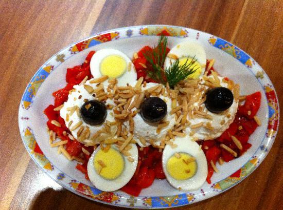 "Napoli pizzeria: The so-called ""winter salad"""