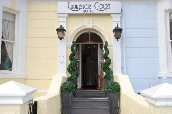 Lauriston Court Hotel: Welcome