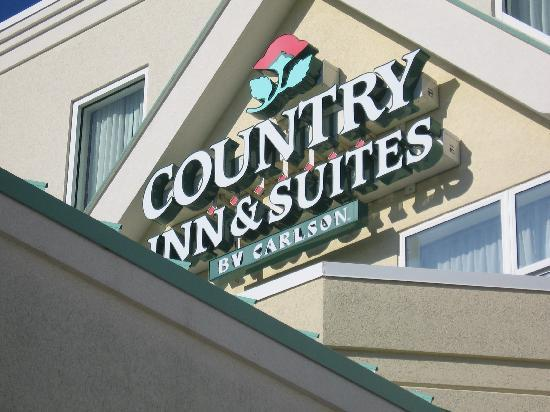 Country Inn & Suites By Carlson, Port Canaveral: Outside sign