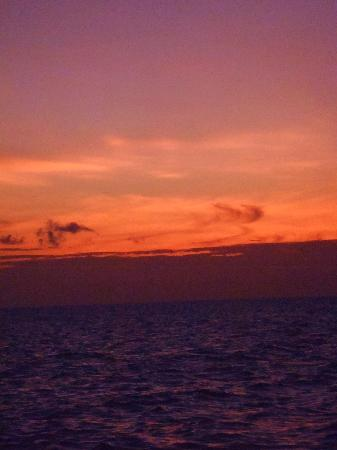 Vilamendhoo Island Resort & Spa: sunset cruise (freeby)