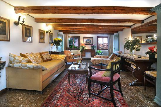 Palazzetto da Schio: Apartment 3 - sitting-room
