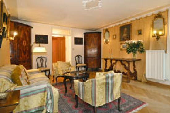 Palazzetto da Schio: Apartment 4 - sitting-room