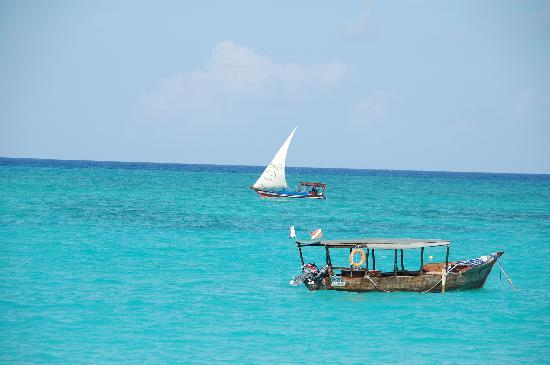 Ras Nungwi Beach Hotel : View from the beach