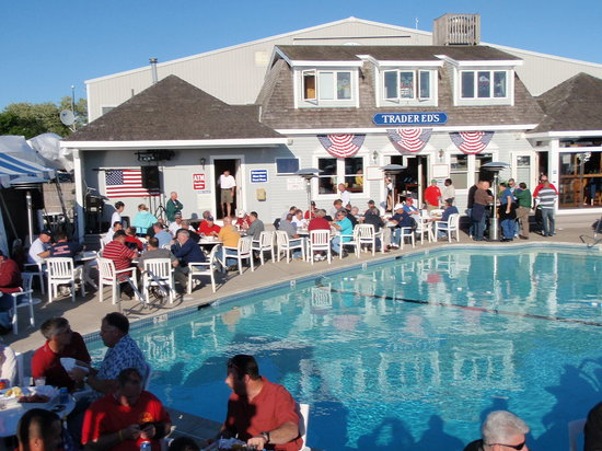 Trader Ed's At Hyannis Marina: it's always a fun time at Trader Ed's