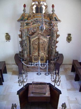 Eretz Israel Museum Complex (Haaretz Museum): Italian synagogue re-creation