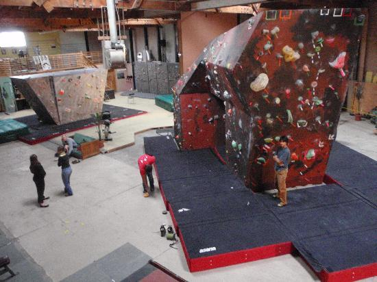North Coast Adventure Centers : our storefront @ Far North Climbing Gym