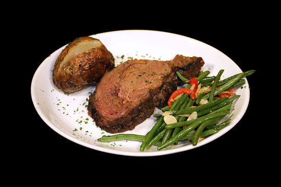 4th Floor Grille & Sports Bar: Prime Rib