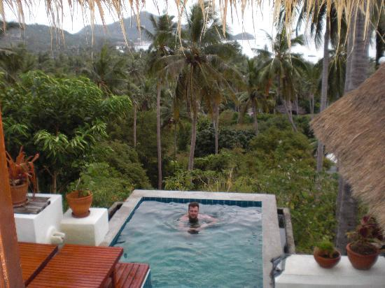 Anankhira Villas: view from leilla