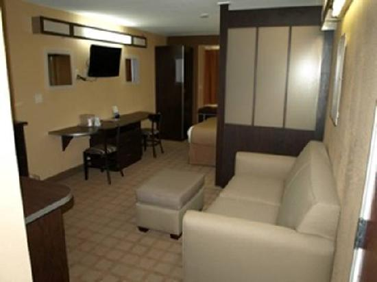 Microtel Inn & Suites by Wyndham Scott/Lafayette: Queen Suite with sleeper sofa