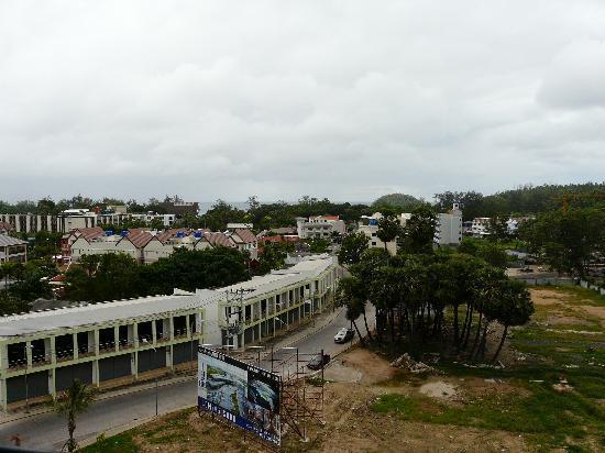 The BluEco Hotel: Balcony View
