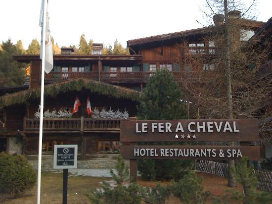 Hotel Le Fer A Cheval With Its Excellent Spa And Indoor Pool