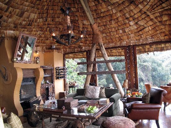 andBeyond Ngorongoro Crater Lodge: comedor
