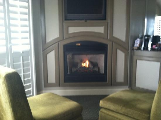 Marina, Kalifornia: fireplace