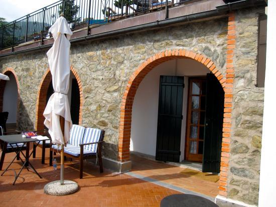L'Eremo sul Mare: One of the terraces