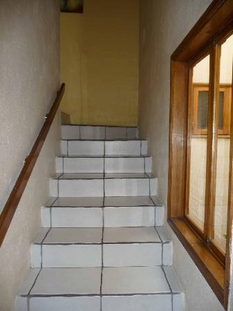 Taranova-Villas Palmas: Stairs to Bedrooms