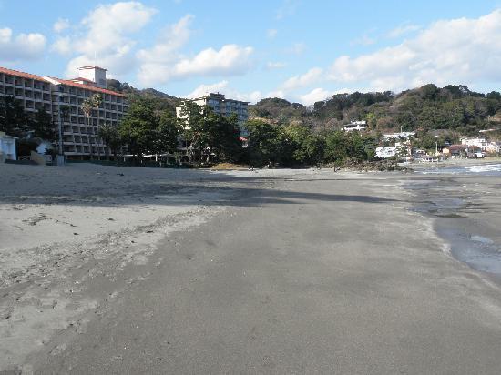 Imaihama Beach: 砂浜