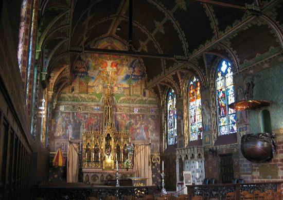Basilica of the Holy Blood: The Basilica--a feast for the eyes.