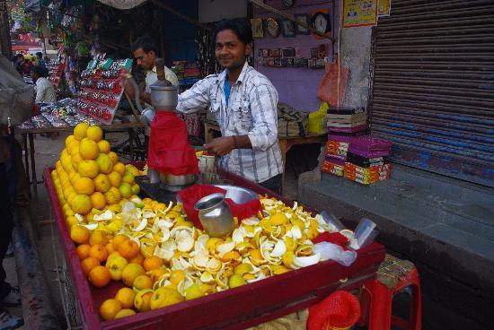 Aashray : orange juice