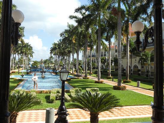 Hotel Riu Palace Mexico: Jardin