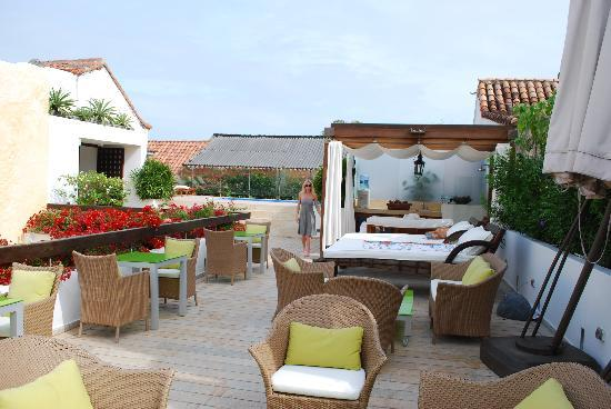 Hotel LM: Roof patio