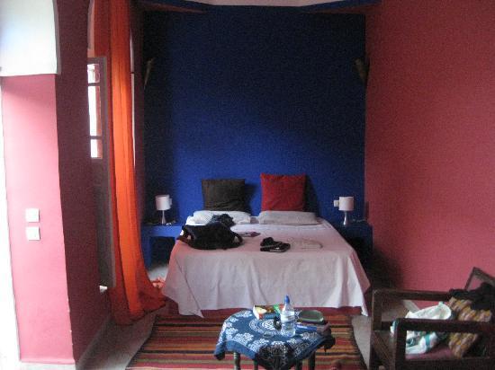 Riad So Cheap So Chic: our room