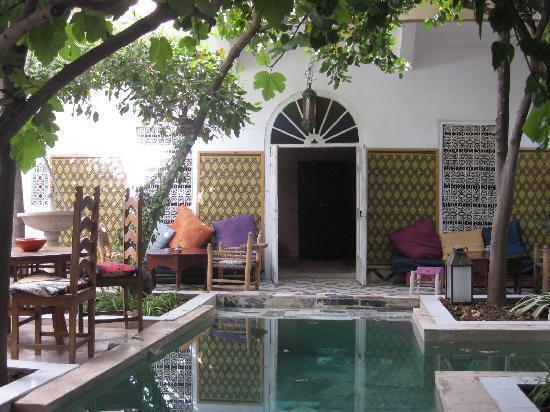 Riad So Cheap So Chic : the courtyard