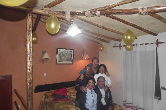 Hotel Kunturwassi Colca: Celebrando el cumple de mi mami en el Kunturwassi Colca!!!