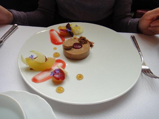 Eleven Madison Park: foie gras