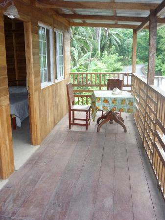 La Guaira, Panamá: la habitacion de madera