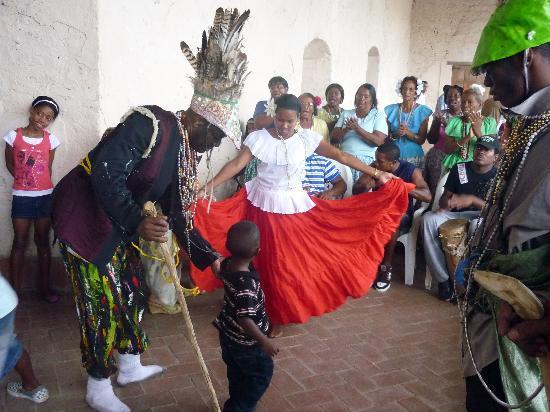 La Guaira, Panamá: tarde de baile de Congo