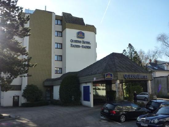 Leonardo Royal Hotel Baden-Baden: outside view