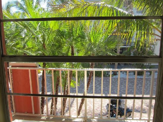 Sanibel Island Beach Resort: View from room 217