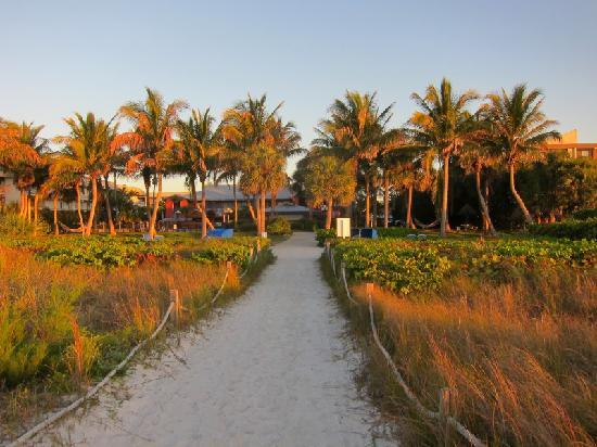 Holiday Inn Sanibel Island: View of property from beach