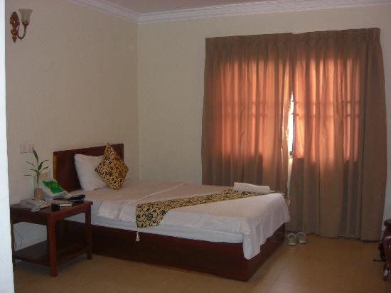 Avista Hostel Siem Reap: 部屋の一部分です。写真を撮るのが下手でごめんなさい。