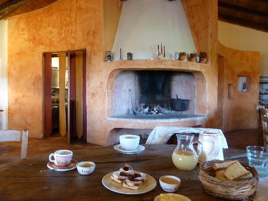 Lama di Luna - Biomasseria : breakfast room
