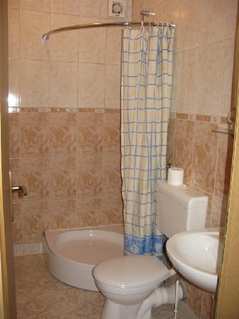Pansion Primorac : bagno