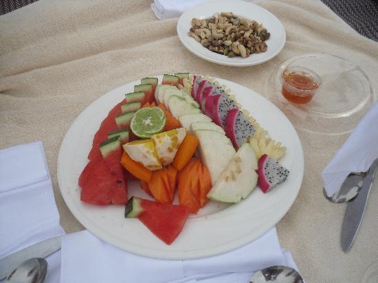 Sofitel Krabi Phokeethra Golf & Spa Resort: notre pique nique