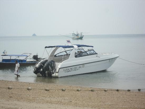 Sofitel Krabi Phokeethra Golf & Spa Resort: le bateau