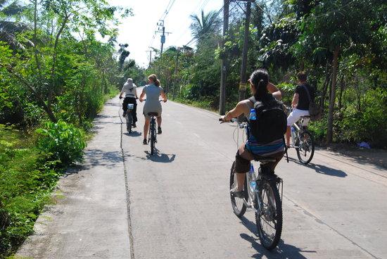 Recreational Bangkok Biking : The freedom of biking