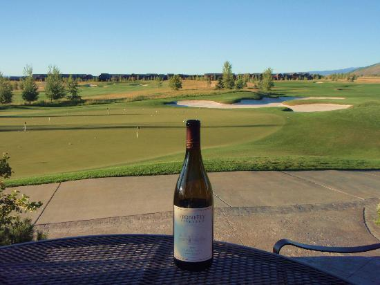 Teton Springs Lodge and Spa: Tip - Spend a lot of time at the practice green!