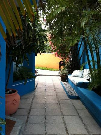 Villas Las Anclas: PATIO