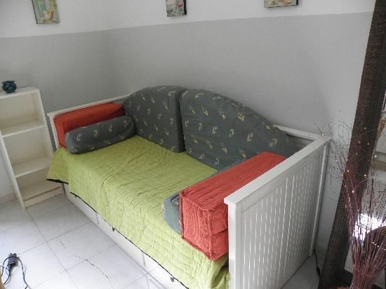 Camera Con Vista Apartments: Living room