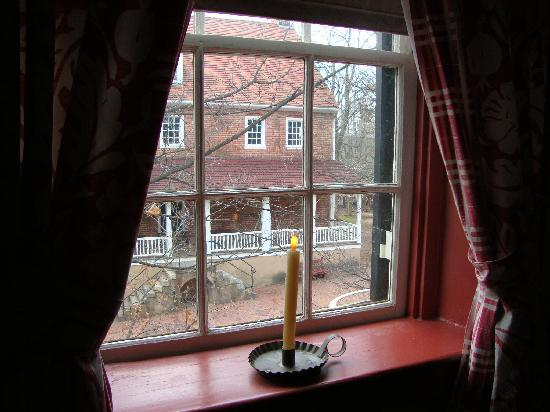 Augustus T. Zevely Inn: View from our window