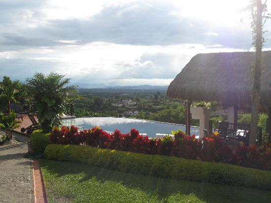 Hacienda Combia: Wonderful view